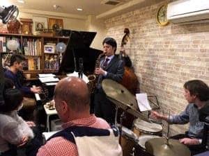 1/13 朝潮橋 piano bar kiyomiでライブでした。