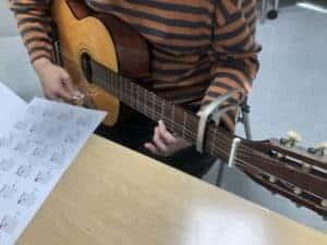 出張ギター教室「クリエバンド」:10月練習記録